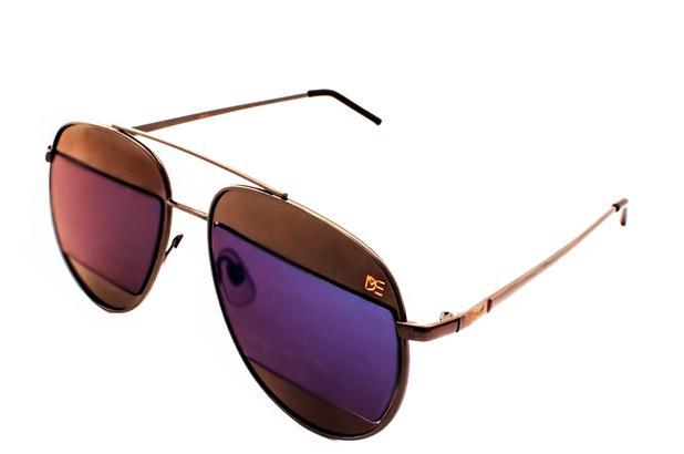 Oculos de sol aviador split premium drop me lente flat metal cromado preto  - Drop me acessorios e9eb3ec462