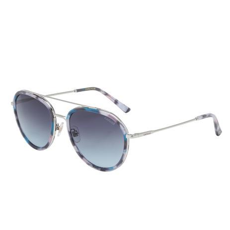 544a38124151f Óculos De Sol Azul Demi E Prata C0090F9186 Colcci - Óculos de Sol ...