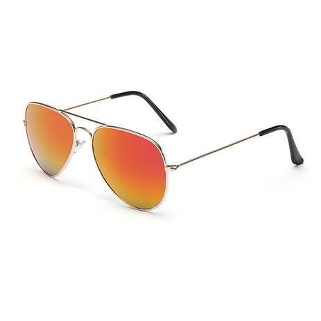 46da5eb9a Óculos De Sol Bl Cor Ouro Vermelho - Vinkin - - - Magazine Luiza