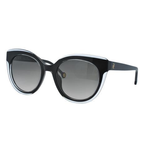 61f2a721de2bf Óculos de Sol Carolina Herrera Feminino SHE789 01EN - Acetato Preto e  Transparência