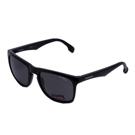 c5480f6b5 Óculos de Sol Carrera 5043/S - acetato preto, lente dark cinza ...