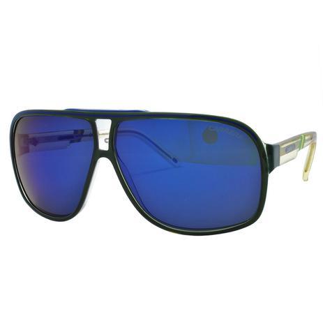 50a4fc4ecb643 Óculos de Sol Carrera Copa Masculino GRANDPRIX2 W C - Acetato Verde e  Amarelo Translucido