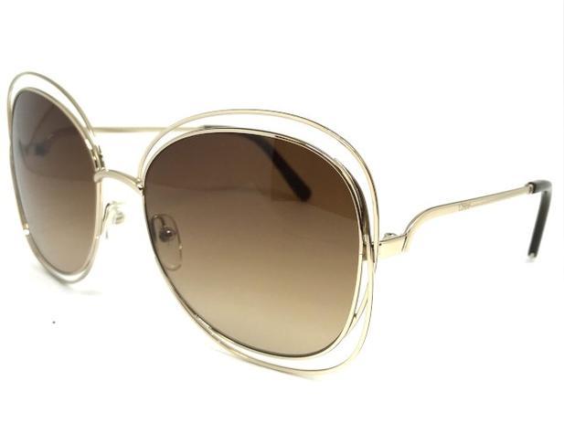 7074232deed32 Oculos de sol Chloe Carlina CE 119S 786 - Chloé - Óculos de Sol ...