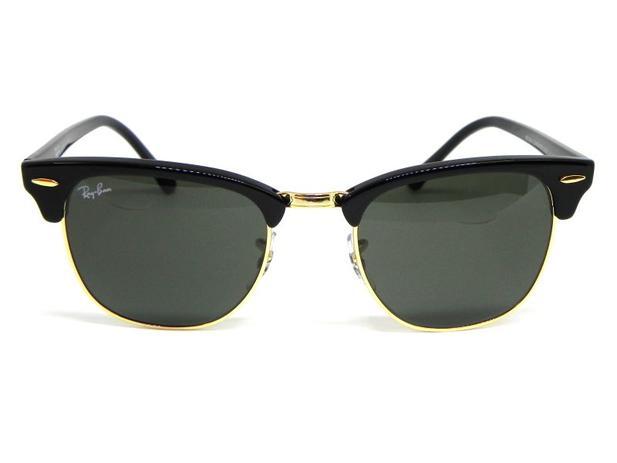 Oculos de sol Clubmaster Ray Ban RB 3016L W0365 51 - Óculos de Sol ... fc569e3207