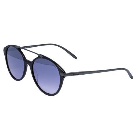 Óculos de Sol Colcci C0069 CA89 43 - acetato preto metal bronze, lente  cinza degradê 41e952c680