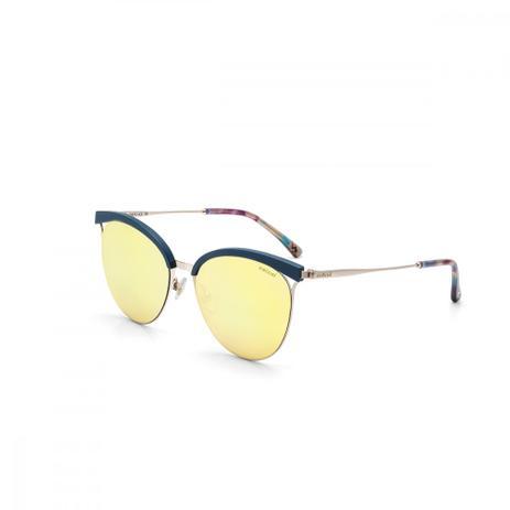 1e7e6dc718b25 Oculos De Sol Colcci C0073 Azul Preto Fosco Lverde Espel - Óculos de ...