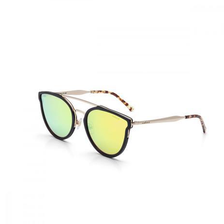78665ed5c6ba3 Oculos De Sol Colcci C0078 Preto Foco C Dourado Brilho Lveresp ...