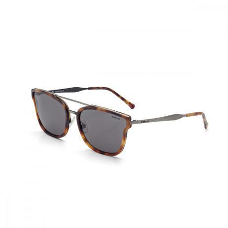 Oculos De Sol Colcci C0079 Demi Marrom Brilho Com Prata Antique ... 5e89dd80cb