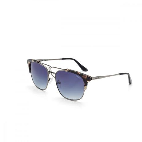 a62b0d19a Oculos De Sol Colcci C0080 Demi Marrom Brilho Com Prata Antique ...