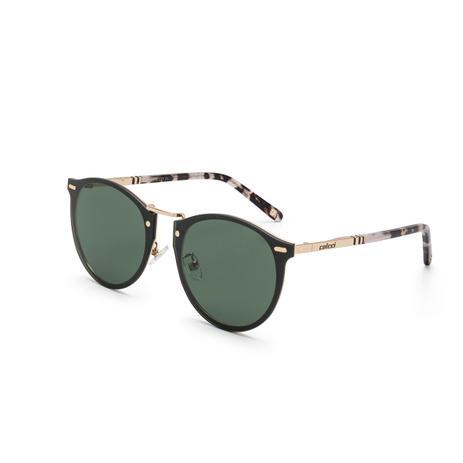 34564dc7f Óculos de Sol Colcci C0098 E27 71 Ouro Lente Verde Escuro Tam 66,2 ...