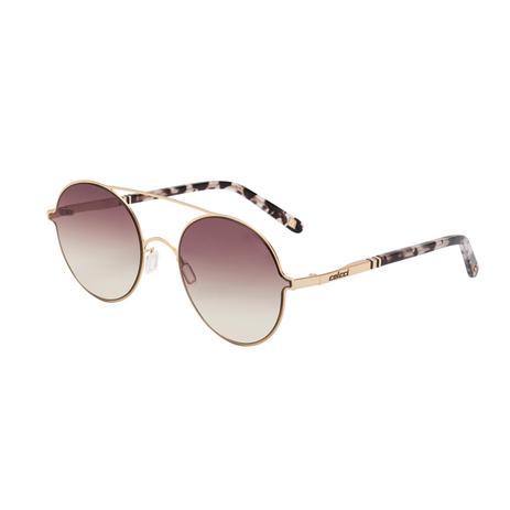 ab5c7e350 Óculos De Sol Colcci C0100 Dourado/Amarelo Lente Degradê Marrom ...