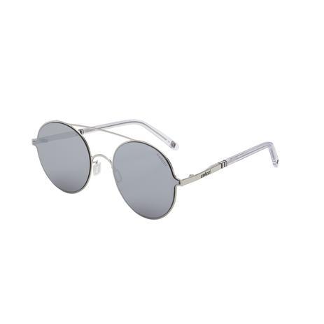 dd96f8b34fca6 Óculos De Sol Colcci C0100 Prata Brilho Translúcido Lente Cinza ...