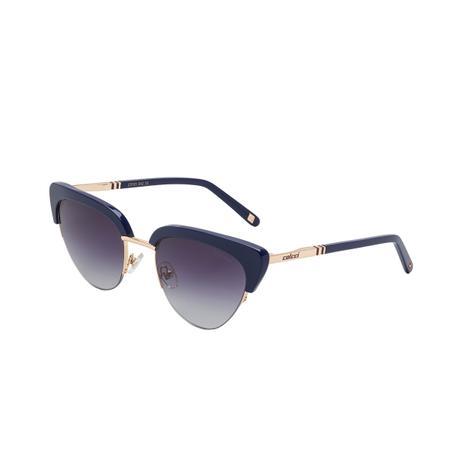 ea8efeaa778f5 Óculos De Sol Colcci C0101 Preto Dourado Lente Degradê Cinza ...
