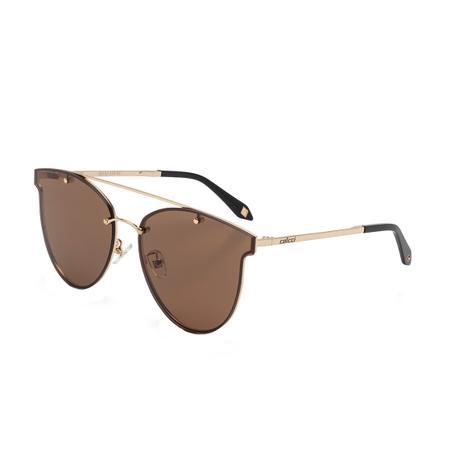 Óculos de Sol Colcci Feminino C0103 A34 02 - Metal Dourado e Lente Marrom 21b9cb3d4d