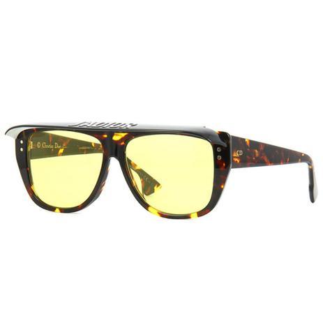 9badb99d6 Óculos de Sol Dior Club 2 Marrom Marmorizado 086HO - Christian dior - Óculos  de Sol - Magazine Luiza