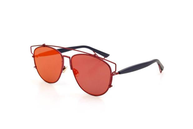 278c8cf53 Óculos de Sol Dior Feminino Metal Policarbonato Vermelho - Óculos de ...