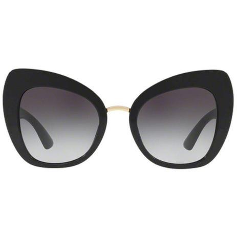 41f52d255 óculos de sol dolce gabbana 4319 5018G gatinho preto - Óculos de Sol ...