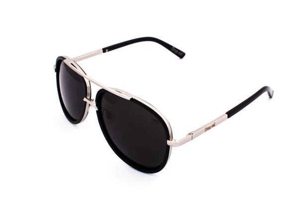Oculos de sol drop me aviador premium icone prata degrade - Drop me  acessorios 6c41d4c28e