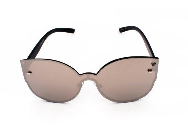 Oculos de sol drop me las gatinho mascara espelhado prateado - Drop me  acessorios 336a52735b