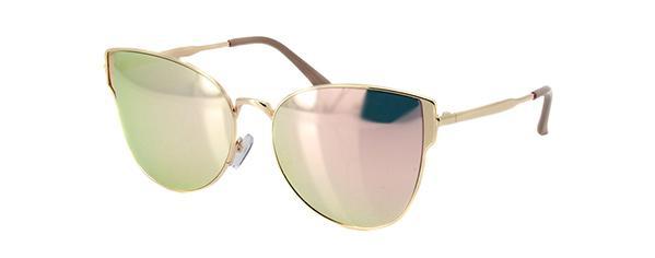 Óculos de Sol Einoh YC3226 C2 Ouro Lente Espelhada Tam 56 - Óculos ... b73d17de65