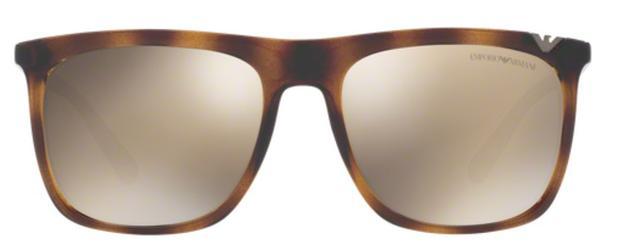Óculos de Sol Emporio Armani EA4095 5026 Tartaruga Lentes Ouro Espelhadas b8110b836d