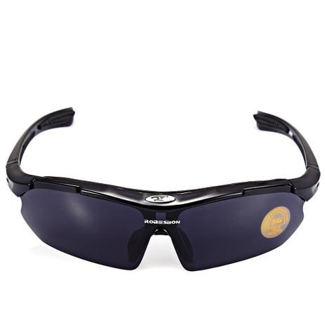 70eb7407f3455 Óculos De Sol Esportivo Robesbon Bike Vôlei Uv400 + Case - Óculos de ...