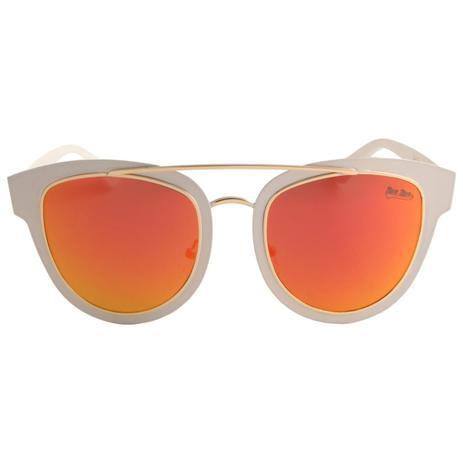 d1d346692 Oculos de Sol Feminino Branco com Vermelho - Minha nova biju ...