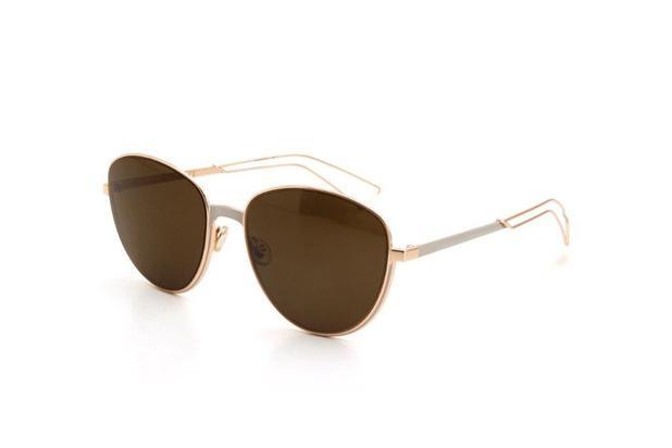 852f45b61 Óculos de Sol Feminino Dior Metal Proteção UV Dourado - Óculos de ...