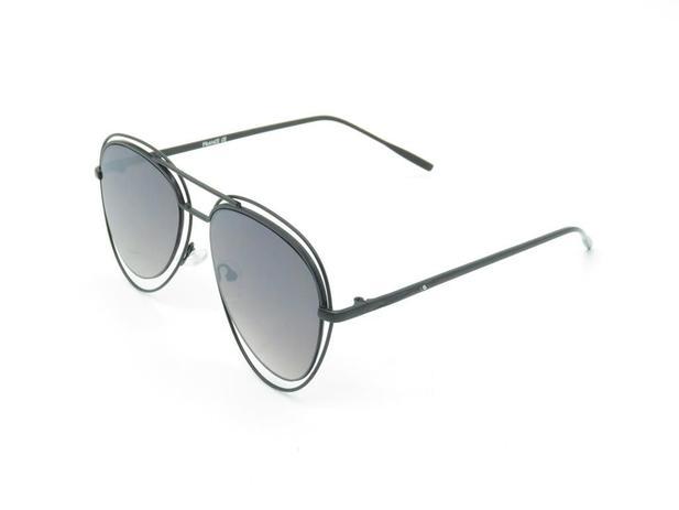 Óculos de sol feminino luma ventura romina preto black - Óculos de ... 78f06f8d42