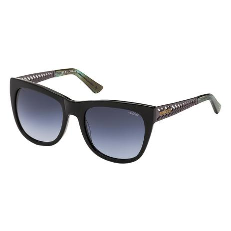 c7b13e7ba2757 Óculos De Sol Feminino Preto Com Chumbo Fosco E Verde Marmorizado Colcci