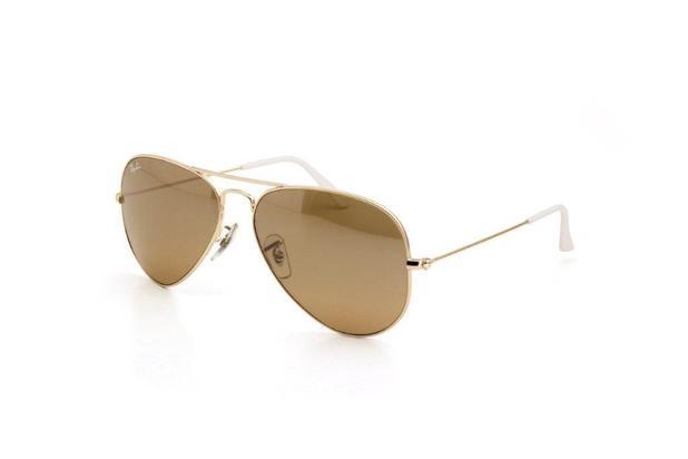 8aea1fb26 Óculos de Sol Feminino Ray Ban Lente Espelhada Dourado - Ray-ban ...