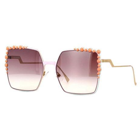 bdff29e51 Óculos de Sol Fendi Can Eye 0259 S Rosê | Menor preço com cupom