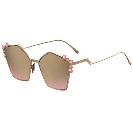 486e6e4e5 Óculos de Sol Fendi Can Eye 0261 S 00053 - Óculos Feminino ...