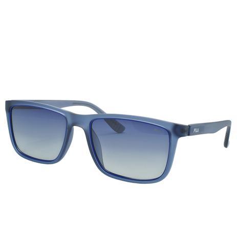 d89fc7071 Óculos de Sol Fila Masculino SF9245 4G0P - Acetato Cinza Translucido Fosco  e Lente Polarizada