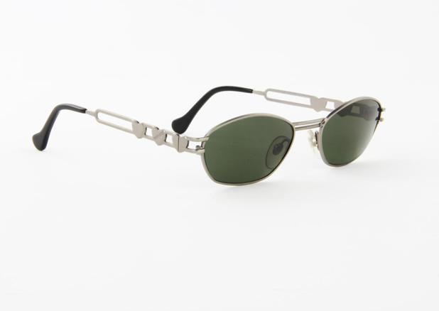 5f7cd58b6 Óculos de Sol Fiorucci Metal Fosco Lente Preta - - - Magazine Luiza