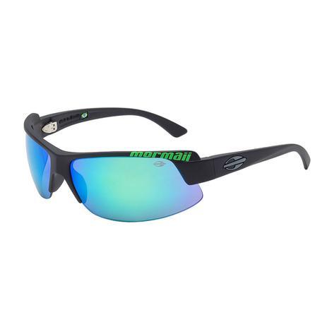 Óculos De Sol Gamboa Air 3 Preto Com Verde Espelhado Mormaii ... b742002654