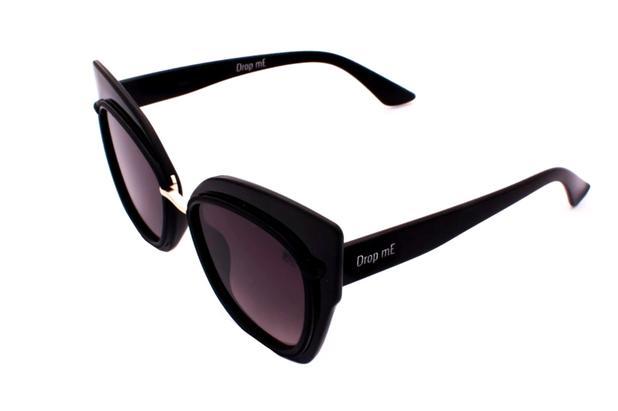 Óculos de Sol Gatinho Drop mE ADRIANA LENTE DETALHE PRETA - Drop me  acessorios a33d643f81