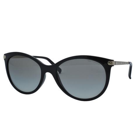 7aef83a17eebb Óculos de Sol Grazi Feminino GZ4018B E431- Acetato Preto, Metal Dourado e Lente  Cinza - Grazi massafera