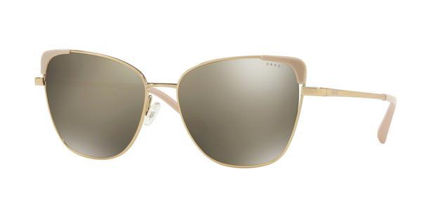 59592df4b Óculos de Sol Grazi Massafera GZ2003 F925 Ouro Lente Espelhado Prata Tam 56