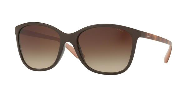 220fa5c7df8ad Óculos de Sol Grazi Massafera GZ4017 E430 Marrom Lente Marrom Degradê Tam 56