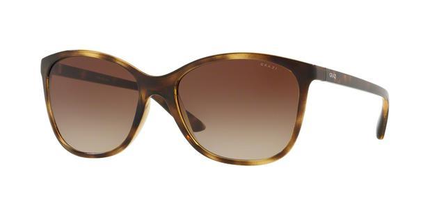 0f216cc5509c3 Óculos de Sol Grazi Massafera GZ4017 F741 Tartaruga Lente Marrom Degradê  Tam 56
