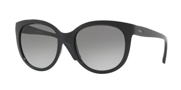 e3c407b9d27a9 Óculos de Sol Grazi Massafera GZ4019 E819 Preto Com Cristais Da SWAROVSKI  Lente Cinza Degradê Tam 56