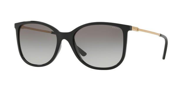 Óculos de Sol Grazi Massafera GZ4020 F742 Preto Lente Cinza Degradê Tam 55 036432bb3f