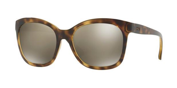 Óculos de Sol Grazi Massafera GZ4021 F226 Tartaruga Lente Espelhada Ouro  Marrom Claro Tam 56 2dd8bbdd0f