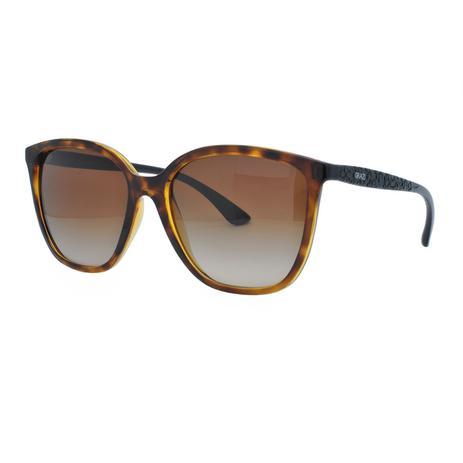 81dc1d588fc2b Óculos de Sol Grazi Massafera GZ4025 F718 - Acetato Tartaruga Marrom e  Lente Marrom Degradê