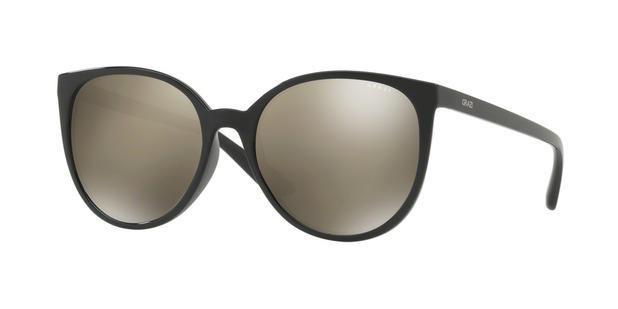 2677ca5844212 Óculos de Sol Grazi Massafera GZ4027 F726 Preto Lente Espelhada Ouro Tam 54