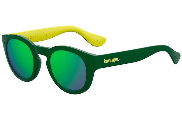 f1c1d53366bc1 Óculos de Sol Havaianas Trancoso M 223842 GP7-Z9 49 Amarelo Verde ...