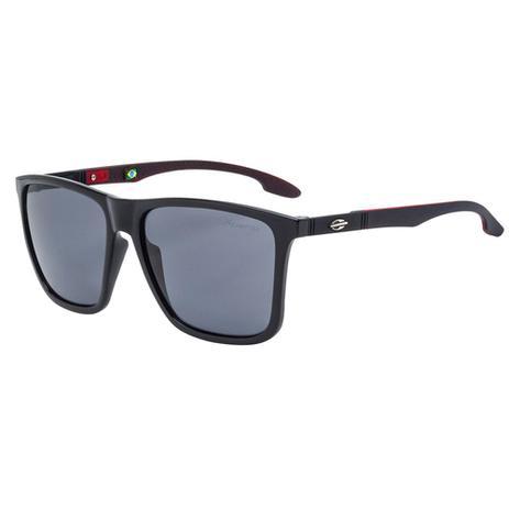 Óculos De Sol Hawaii Preto Com Lente Polarizada Cinza Mormaii ... 5331b4e95e