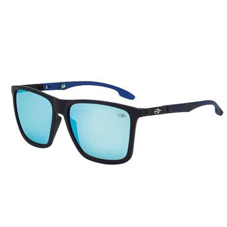 512c8cfd9a075 Óculos De Sol Hawaii Preto Fosco Com Lente Azul Mormaii - Óculos de ...