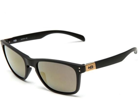 649cdef23 Óculos de Sol HB Gipps II Matte Black l Gold   Menor preço com cupom